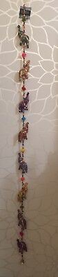 Global Marketplace India 8 Elephant Hanging Strings Door Wall Hanging Good Luck