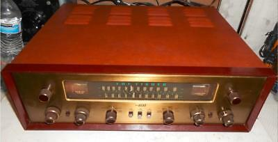 Rare Fisher TA600 AM/FM Simulcast Stereo Tube Receiver Great Working Condition