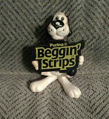 1992 Ralston Purina rubber dog figurine
