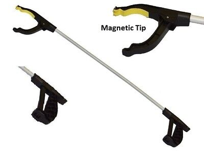 Litter Picker Rubbish Debris Pick Up Stick Reaching Mobility Magnetic Tip Tool