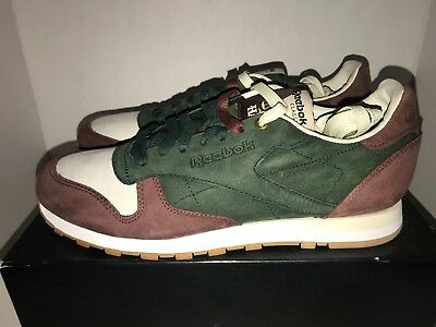 e13adec2d53 REEBOK X HEAD Porter CL Leather Vintage Men s Size 11 Rare Leopard ...