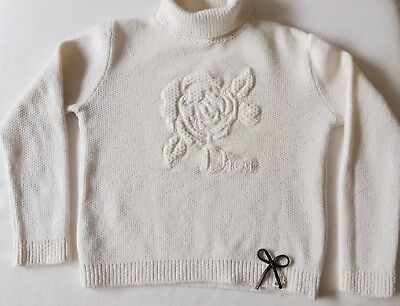 Kids Christian Dior Angora white jumper