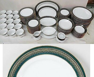 119 Pieces of Noritake Legacy Coventry China 12 - 7 Piece Place Settings & More