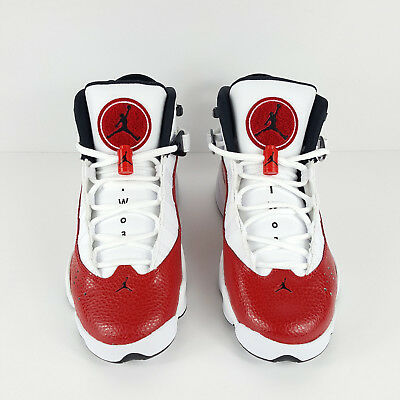 32f9c7664eef42 Nike Big Kids Jordan 6 rings GS NEW AUTHENTIC Gym Red 323419-120 size 5Y
