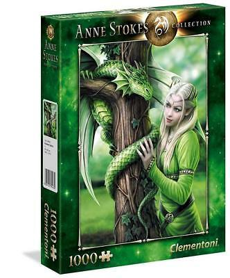 Puzzle 1000 Pezzi Anne Stokes Kindred Spirits Clementoni 39463