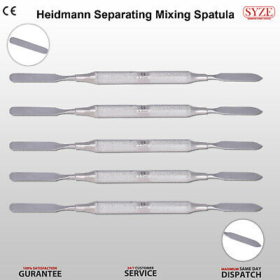 SYZE Dental Cement Mixing Spatulas Double Ended Filling Instruments Restorative
