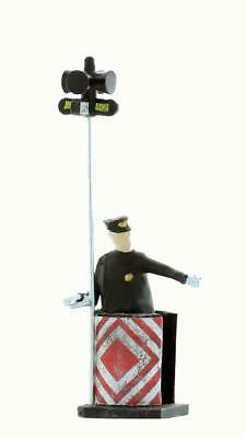 early era TRAFFIC Control for your streets, Traffic Cop HO Scale