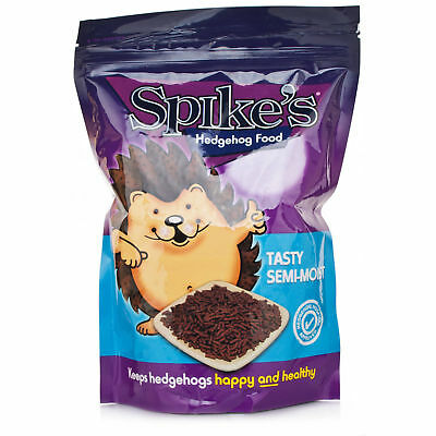 Spikes Tasty Semi Moist Hedgehog Hog Wild Animal Food 550g/1.3kg
