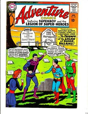 Adventure 331 (1965): FREE to combine- in Very Good/Fine condition