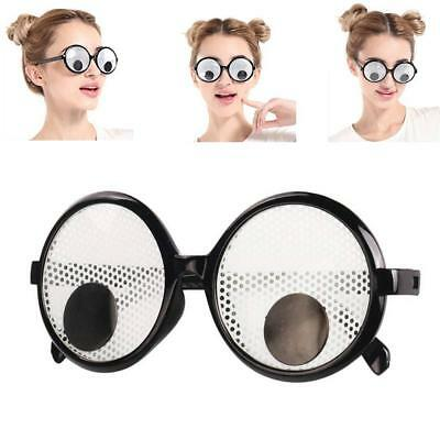Googly Eyes Funny Joke Glasses Wheres Wally Fancy dress Party Novelty Moving