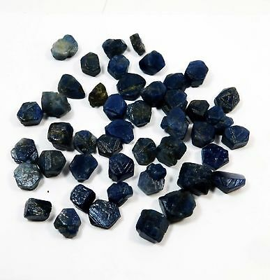 50 Ct Natural Blue Sapphire Rough Raw Gemstone Loose Lot Untreated Minerals. D