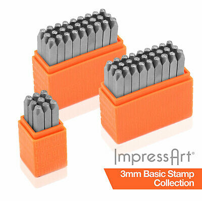 ImpressArt 3mm Basic Economy 63 pc. Full Collection for Stamping