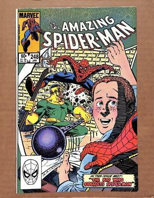 "Amazing Spider-man #248, VF 8.0, ""The Kid Who Collects Spider-Man"""