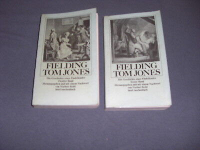 Tom Jones 1+2 Fielding Findelkindes
