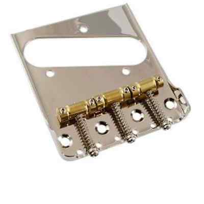 Cordier Telecaster 3x Gotoh InTune Vintage Saddle Tele Bridge adapted for BIGSBY