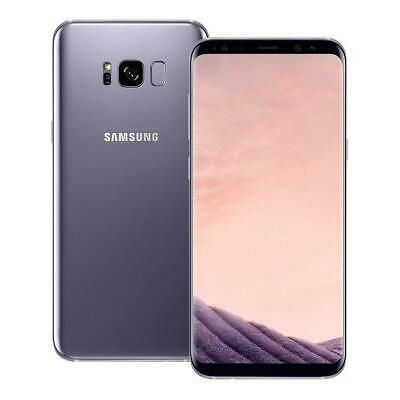 Samsung Galaxy S8 Plus - G955U Factory Unlocked (Verizon AT&T T-Mobile) Silver