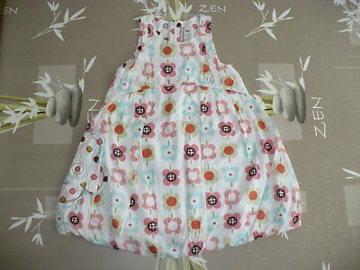 c4392271daf80 Superbe Robe doublée multicolore - fille 8 ans - Orchestra - TBE