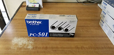 GENUINE Brother PC-501 FAX-575 Printing Cartridge, new, factory sealed