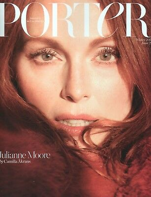 """PORTER MAGAZINE - Winter 2018 """"Julianne Moore"""" Subscribers Edition (BN/SEALED)"""
