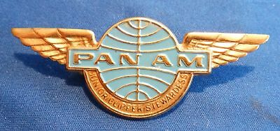 Junior Wing Pin Clipper Stewardess PAN AM AIRLINE