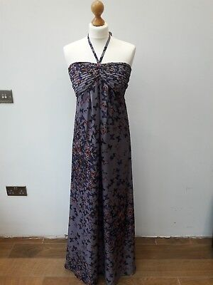 0a49b08d10553 TED BAKER SIZE 1 butterfly maxi dress - EUR 14