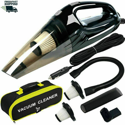 ANKO High Power DC12-Volt Wet&Dry Handheld Auto Vacuum Cleaner