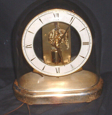 vintage mid century 1962 junghans ato electronic clock with oval rh picclick com