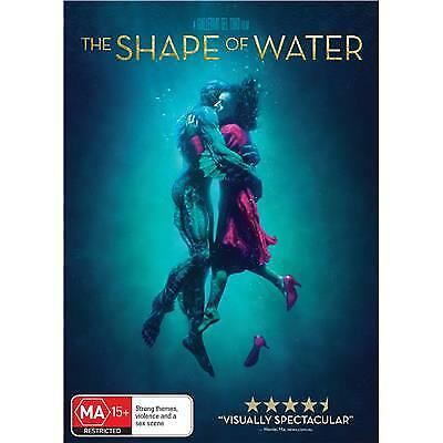 The Shape Of Water Dvd, New & Sealed, 2018 Release, Region 4, Free Post