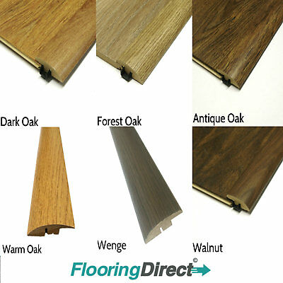 Clearance Threshold strips laminate flooring Ramps and T bars -Trims - Door Bars