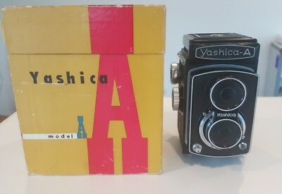 Yashica A TLR Camera