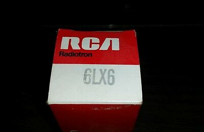 (1) NOS 6LX6 / 6LF6 Sweep Tube NOS/NIB by RCA (Sylvania) for Ham  Radio/Linear