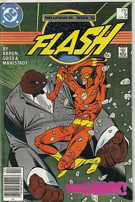 Flash (1987) #9 FN 6.0 DC Comics Millennium Crossover