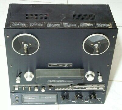 Vintage Reel-To-Reel Tape Recorder and Player Teac X-1000 for fix or parts