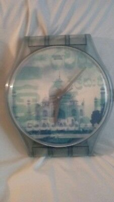 Swatch Maxi Swatch Wall Clock Vintage