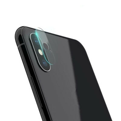 3x Soft Tempered Glass Rear Camera Lens Protector Film for iPhone X XS XR XS Max