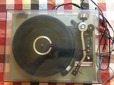 TECHNICS SL-23 VINTAGE Turntable For Repair Or Parts Vf Shape L@@k!