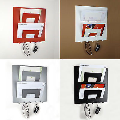 Letter Rack and Key Holder by The Metal House
