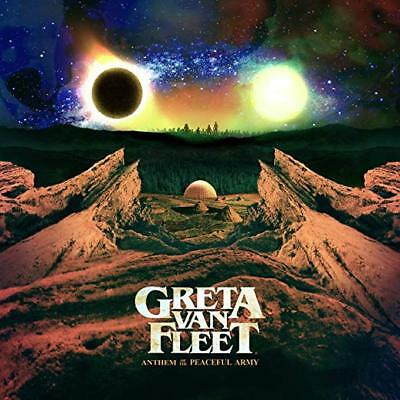 Greta Van Fleet Cd - Anthem Of The Peaceful Army (2018) - New Unopened - Rock