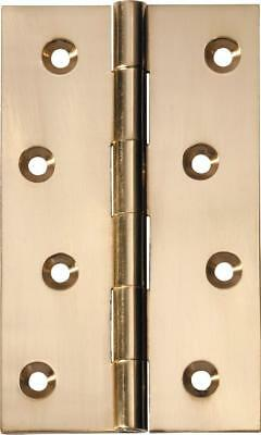 fixed pin door hinge 60 x 100 x 2.5 mm,brass and 8 other finishes over brass