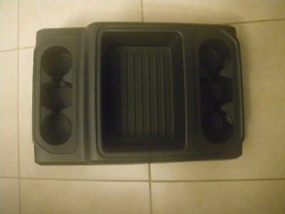 Ford F series Center Tray with cupholders and brackets 2017