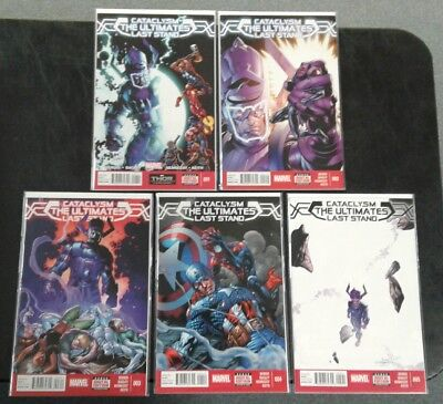 The Ultimates: Cataclysm Last Stand COMPLETE SET LOT RUN 1-5! Marvel 2014 All NM