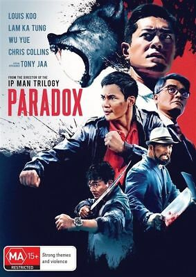 Paradox Dvd, New & Sealed, 2018 Release, Region 4, Free Post