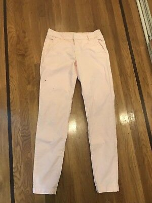 LOGG H&M Women's Blush Pink Skinny Jeans Juniors Size 6 Label of Graded Goods