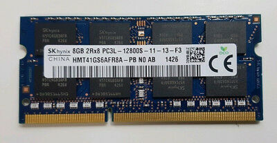 8GB DDR3 Notebook RAM SoDimm PC3 Laptop Memory 1333 1600 PC3L Various
