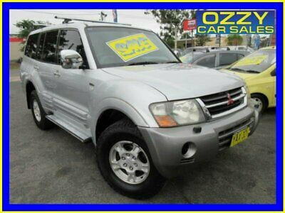 2001 Mitsubishi Pajero NM Exceed LWB (4x4) Silver Automatic 5sp A Wagon