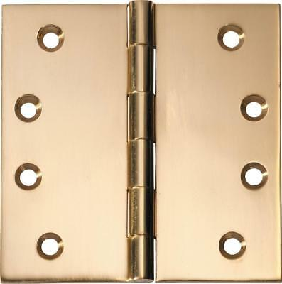 fixed pin door hinge 100 x 100 x 3 mm,brass and 8 other finishes over brass