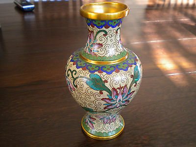 Cloisonne Vase aus China