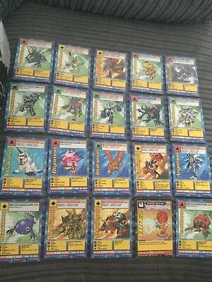 Joblot Of Digimon Trading Cards, 20 Cards For £6.50 (1)