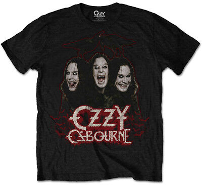 Ozzy Osbourne 'Crows & Bars' T-Shirt - NEW & OFFICIAL!