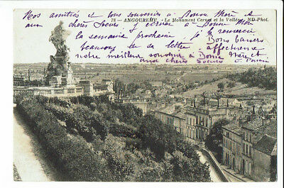 CPA-Carte postale - France-  Angouleme - Monument Carnot- S 2532